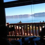 Lunch overlooking Bear Lake