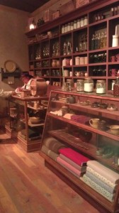 Historic mercantile re-creation at the Oregon Trail Museum